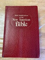 New American Bible, St. Joseph Medium Size Edition by Catholic Book Publishing