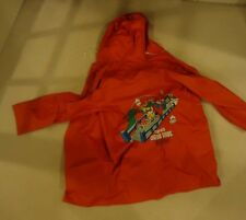 Nintendo Power Super Mario Bros. NES Children's Kid's Raincoat 1988