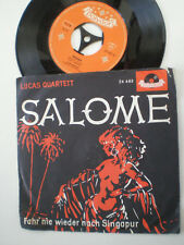 LUCAS QUARTETT Salome GERMANY 45 1961 Sexy Nude Art Cover