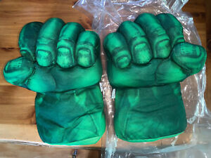 NEW! Hulk Hands Kids Boxing Gloves Smash Fists Roleplay Costume Plush