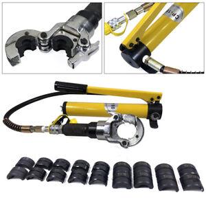 6T V-Kontur Hydraulische Presszange Hydraulik Crimpzange Radialpresse Kupferrohr