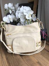 BNWT Stone Mountain genuine leather multipocket handbag Shoulder Bag
