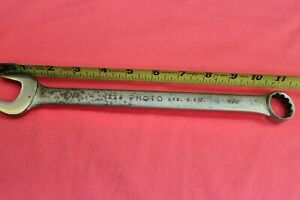 "PROTO PROFESSIONAL 7/8"" Combination Wrench 1228 USA"