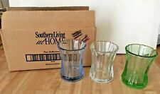 Southern Living At Home Pure Reflections Set 3 Glass Votive Candle Holders