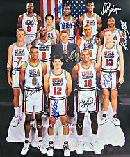 1992 Olympic Basketball Dream Team Signed 8x10 Photo Reprint Autographed RP
