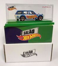 Hot Wheels '71 Datsun Bluebird 510 Wagon 2017 Brazil Convention IN HAND FROM USA