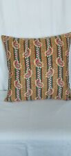 "16"" Osborne and Little,  Traditional Design Cushion Cover Red/Green/Gold 18"" 20"""
