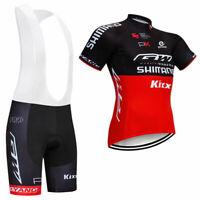Men Cycling Jersey Bib Short Kit Bicycle Bike Shirt Team Clothing Shimano Jacket