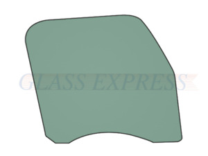 FREIGHTLINER CASCADIA (2019) RIGHT DOOR GLASS