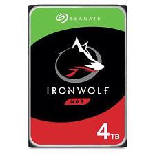 """Seagate 4TB IronWolf NAS Hard Drive 3.5"""" SATA III 6GBs 5900RPM 64MB Cache"""