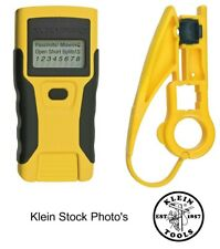 Klein Tools Vdv526-052 Cable Tester, Lan Scout® Jr. Continuity Tester & Stripper