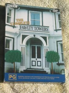 THE COMPLETE FAWLTY TOWERS - DVD