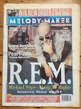 Melody Maker 12/11/1994 R.E.M. cover, Victoria Williams, Carter USM, Big Chief