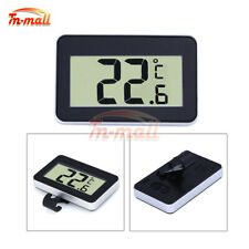 TS-A95 Digital LCD Thermometer Temperature Meter Waterproof High Accuracy BLACK