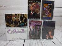 Cassette Tape Lot CINDERELLA Night Long WARRANT Dirty FIREHOUSE Heavy Metal x7