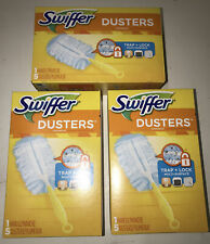 Lot of 3 x Swiffer Duster Starter Kit Disposable Dusters & Handle #40509 New