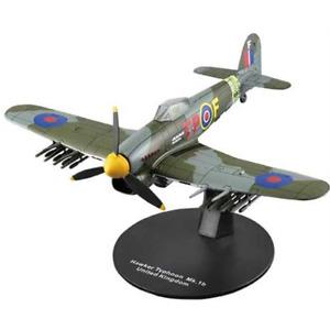IXO/DEAGOSTINI 1/72 DIECAST RAF HAWKER TYPHOON MK1B MKIB FIGHTER 198 SQN. 1944