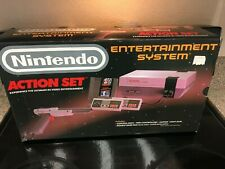 NES-Nintendo Action Set Console** Box Only-With Foam