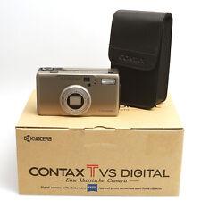 Kyocera Kompaktkamera Contax T VS Digital mit Carl Zeiss Vario Sonnar T* 3x Zoom