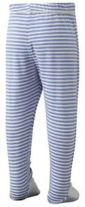 ScratchSleeves   PJ bottoms with feet   Discontinued style   Stripes   6m to 4y