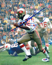JIMMY JOHNSON SIGNED AUTOGRAPHED 8x10 PHOTO SAN FRANCISCO 49ERS PSA/DNA