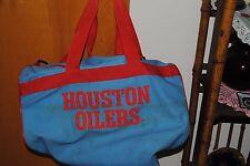 Vintage Original Houston Oilers Duffel Bag