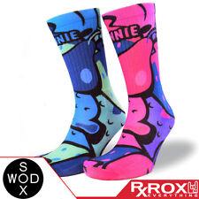 Annie by WODSOX | Breathable Cushioned WOD Socks UK Size 7-11 | CrossFit
