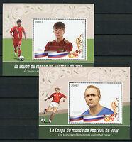 Mali 2016 MNH Russia 2018 World Cup Football Arshavin Streltsov 2x 1v S/S Stamps