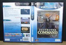 DESTROYER COMMANDO WWII NAVAL COMBAT SIMULATION - Pc - 2001 Ubi Soft
