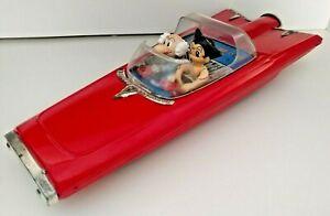 Astro boy Atom and Ochanomizu Red Tin Car