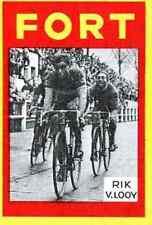 RIK VAN LOOY Cyclisme Cycling FORT Chromo card Wielrenner ciclismo Cycliste #15