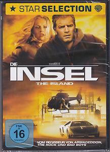 Die Insel *DVD*NEU*OVP* Ewan McGregor - Scarlett Johansson