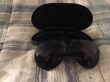 Vintage 1980'S Porsche Carrera 5621 Black Sunglasses With Case