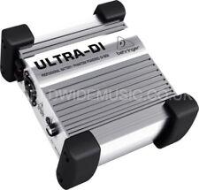 Behringer Ultra DI100 caja DI para etapa y Active Studio