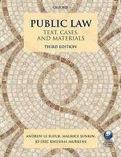 Public Law by Andrew Le Sueur, Maurice Sunkin, Jo Eric Khushal Murkens...