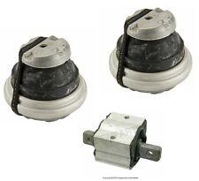 For Mercedes 12cyl 03-06 Engine +A/T Mounts 3 pcs OEM Transmission Motor Support