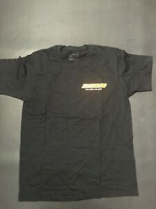 Go Kart - Monaco T Shirt Black Size Junior 10 - NEW