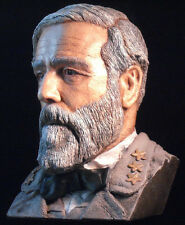 Robert E Lee color sculpture bust made from his death mask