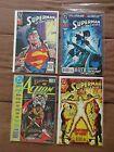 Lot: 4 Superman In Action Comics 1989 Annual #2 & #692 693 694 1993 DC Comics