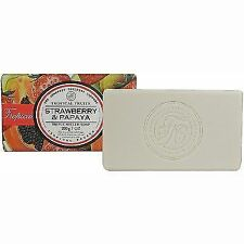 Strawberry Papaya 200 G Wrapped Soap Bar Tropical Fruits. Somerset