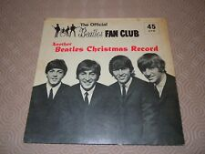 "THE BEATLES CHRISTMAS FAN CLUB RECORD. 7""  FLEXI DISC 1964"