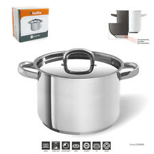 22CM/6.4L  JOMAFE INDUCT STOCKPOT 18/10 STAINLESS STEEL