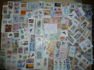 40 grams mixtures Chile stamps on single paper kiloware