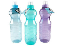1x  Water Bottle BPA Free Sports Gym Bike Diet Drink 1L/L28CM Sydney