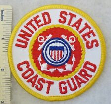 UNITED STATES COAST GUARD PATCH Made for VETERANS & COLLECTORS