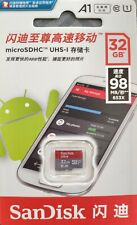 SanDisk Class 10 Ultra 32GB 98MB/s UHS-I Micro SD SDHC Memory Card Retail + Adap