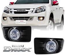 Fog Spot Light Lamp Driving Complete Kit For Isuzu Dmax D-Max 2012-2015