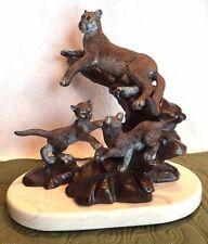 """Legends Sculpture """"CAT'S CRADLE"""" Kitty Cantrell 1995 LE ~CO/Original Box~ Mint!"""