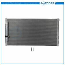 AC Condenser A/C Air Conditioning For Ford Mustang 2015 2016-2018 Aluminum 4620