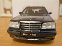 OTTO 1/18 Mercedes S124 AMG E36 Ottomobile T-Modell dark blue ´95 - boxed